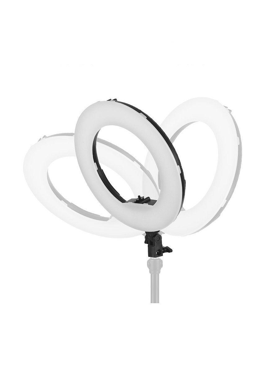 Кольцевая лампа 32см с пультом ДУ для стрима, мобильной фото/видео съёмки RING SUPPLEMENTARY LAMP CST-315 - фото 3