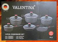 Набор посуды с каменным покрытием и съемными ручками Valentina P-3