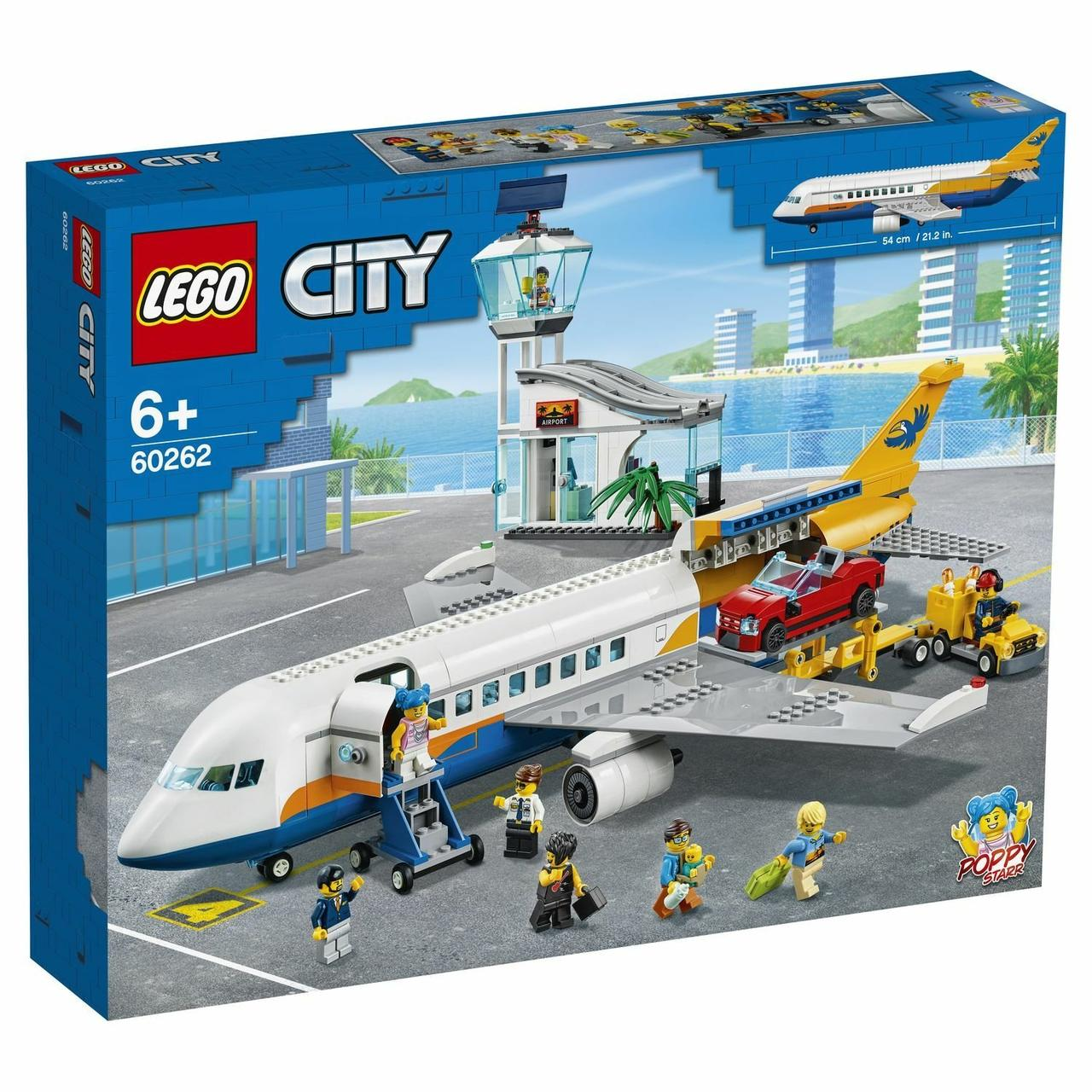 """Конструктор Lego City """"Пассажирский самолёт"""""""