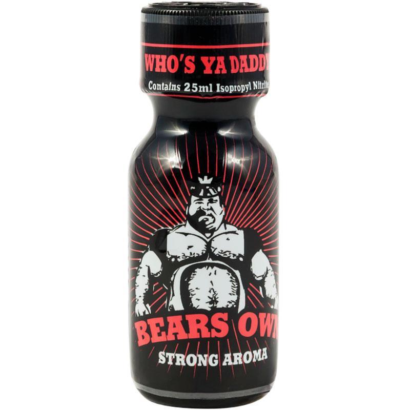 "Попперс ""Bears Own"" 25 мл.(Англия)"