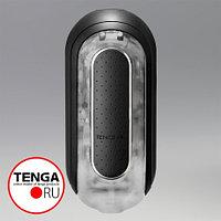 TENGA Мастурбатор Flip Zero с вибрацией черный, фото 1