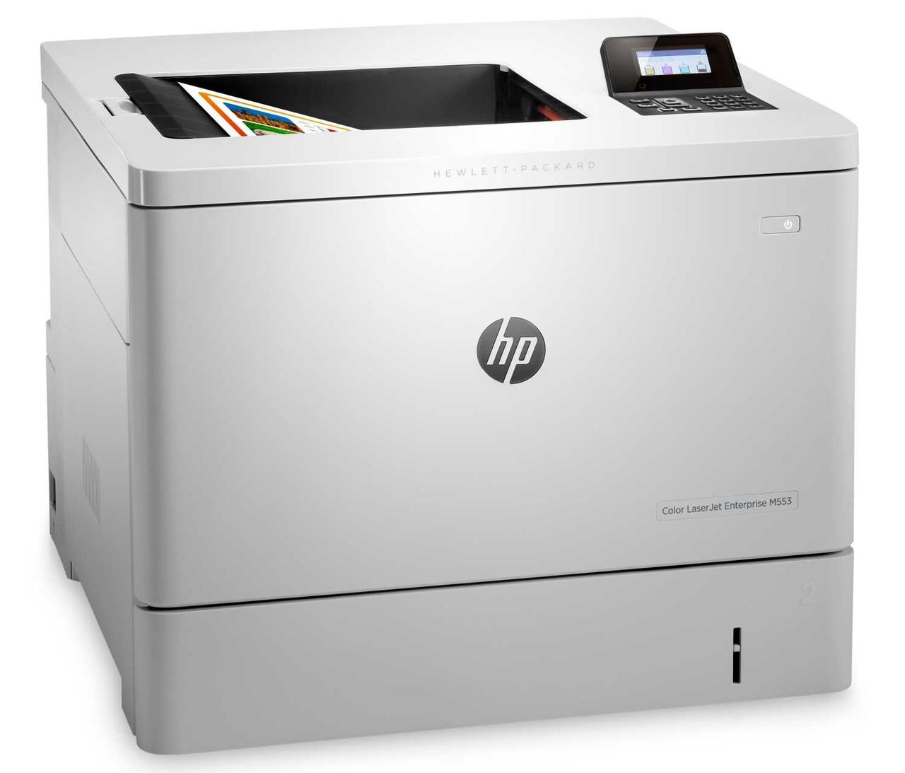 Принтер лазерный HP Принтер лазерный цветной HP Color LaserJet Enterprise M553n (А4) 38 ppm, 1.2 GHz, 1Gb +