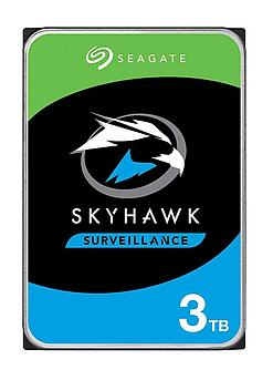 "Накопитель на жестком магнитном диске Seagate Жесткий диск HDD 3TB Seagate SkyHawk ST3000VX009 3.5"" SATA 6Gb/s"