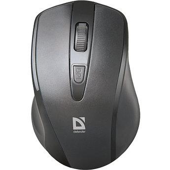 Мышь беспроводная Defender Datum MM-265 черный