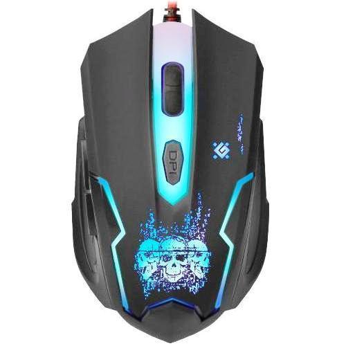 Мышь игровая Defender Skull GM-180L (Коврик в комплекте)