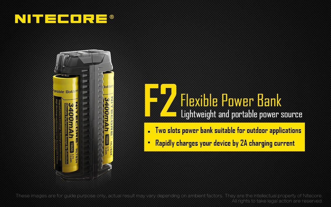 Зарядное устройство NITECORE F2 Powerbank