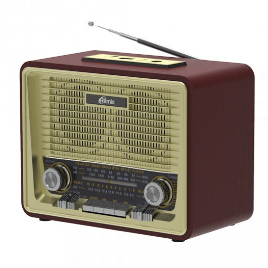 Радиоприемник портативный Ritmix RPR-088 GOLD