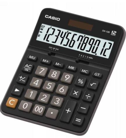 Калькулятор настольный CASIO DX-12B-W-EC