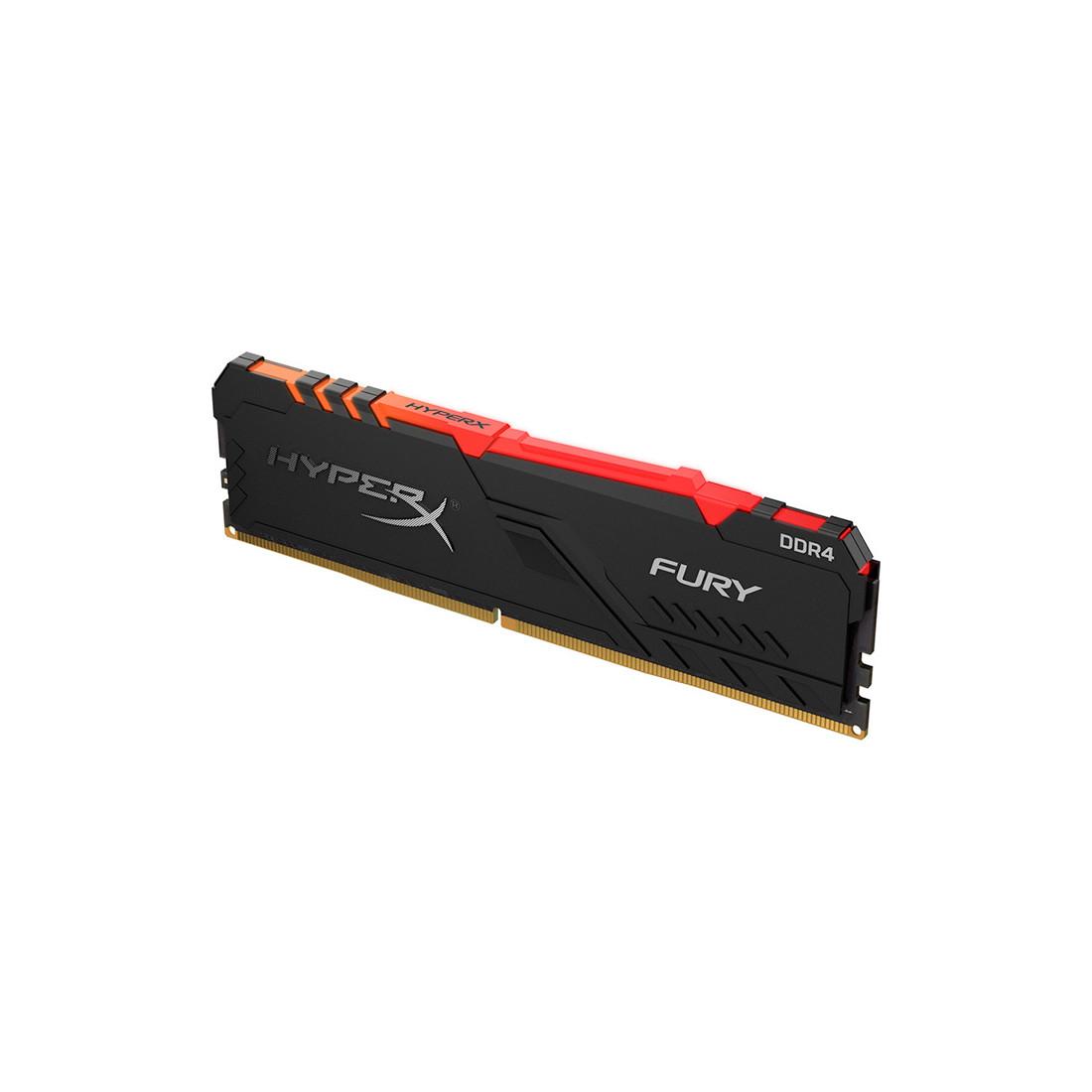 Модуль памяти Kingston HyperX Fury RGB HX434C16FB3A/16 DDR4 16G 3466MHz