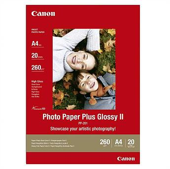 Бумага Canon Photo Paper Glossy PP-201, A4, 20 листов