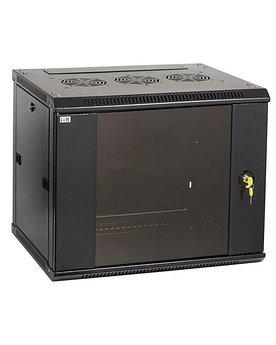 """ITK LN35-42U68-GM ITK Шкаф сетевой 19"""" LINEA N 42U 600х800 мм стеклянная передняя дверь, задняя металлическая"""