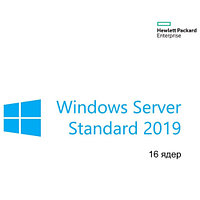 Операционная система HPE P11058-251 Microsoft Windows Server 2019 Standard Edition 16 Core ROK Russian