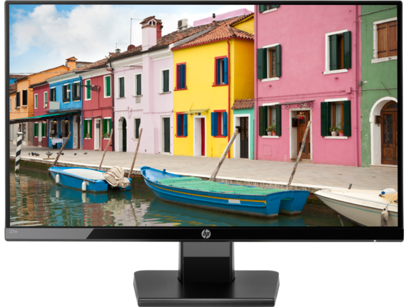 "Монитор HP 1CA83AA 22w, 21.5"" IPS, 1920x1080, 16:9, 250cd/m2, 1000:1, 5ms, H178°/V178°, DSUB, HDMI, Black"