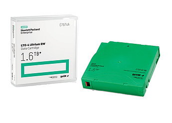 Картридж для хранения данных C7974A HPE LTO4 Ultrium 1.6TB RW Data Cartridge