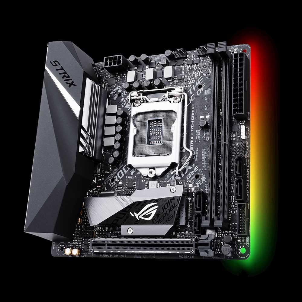 Плата материнская Asus ROG STRIX H370-I GAMING//LGA1151 H370 USB3.1 SATA M.2 MB