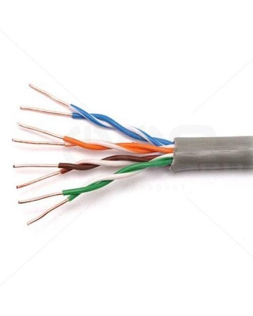 205142115 Premium Line инсталляционный кабель U/UTP, Категория 5е, 100Мгц, коробка 305 м, серый, LS0H _