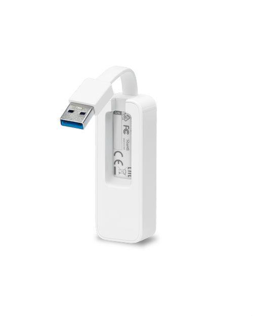 TP-Link UE300 Сетевой адаптер USB 3.0/Gigabit Ethernet