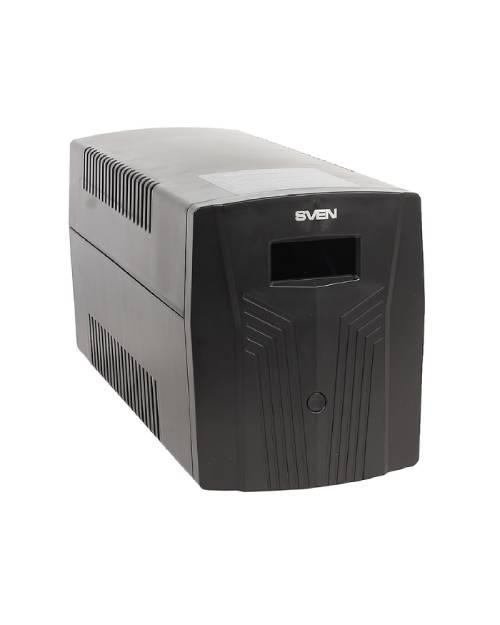 Источник бесперебойного питания SVEN Pro 1500, 900Вт, LCD, USB, RG-45, 3 евро розетки