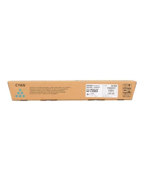 Ricoh 841820 Тонер-картридж тип MP C3503 голубой