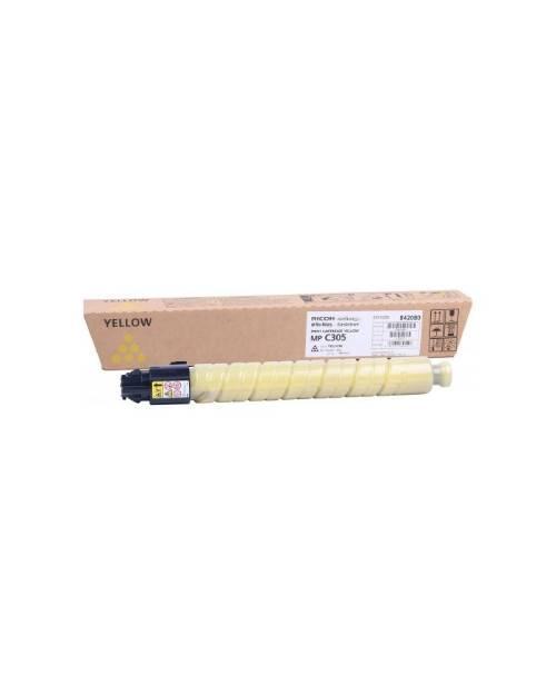 842080 Тонер-картридж тип MP C305 желтый