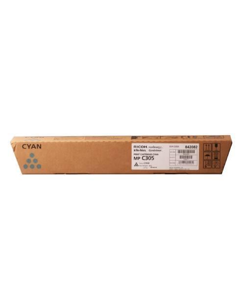 842082 Тонер-картридж тип MP C305 голубой
