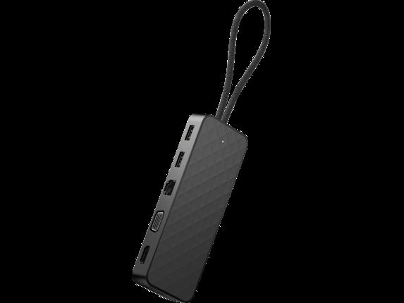 Док-станция HP 2SR85AA, Spectre USB-C Travel Dock,