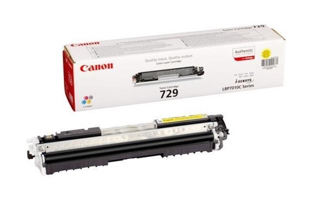 Картридж Canon 729 Y (4367B002AA)