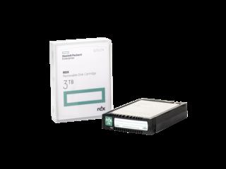 Накопитель на жестком магнитном диске HPE HPE RDX 3TB Removable Disk Cartridge