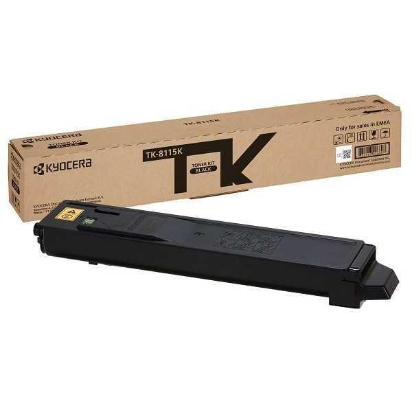 Картридж KYOCERA Тонер-картридж TK-8115K 12 000 стр. Black для M8124cidn/M8130cidn
