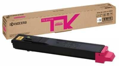 Картридж KYOCERA Тонер-картридж TK-8115M 6 000 стр. Magenta для M8124cidn/M8130cidn