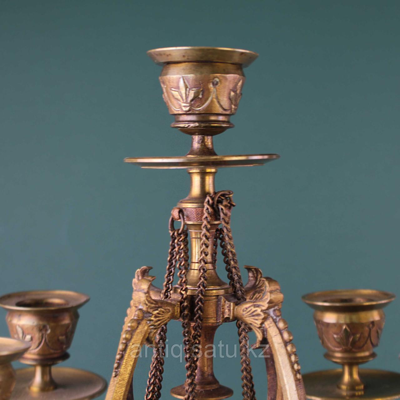 Пара канделябров в стиле Наполеона III. Франция. XIX век - фото 2