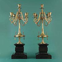 Пара канделябров в стиле Наполеона III. Франция. XIX век