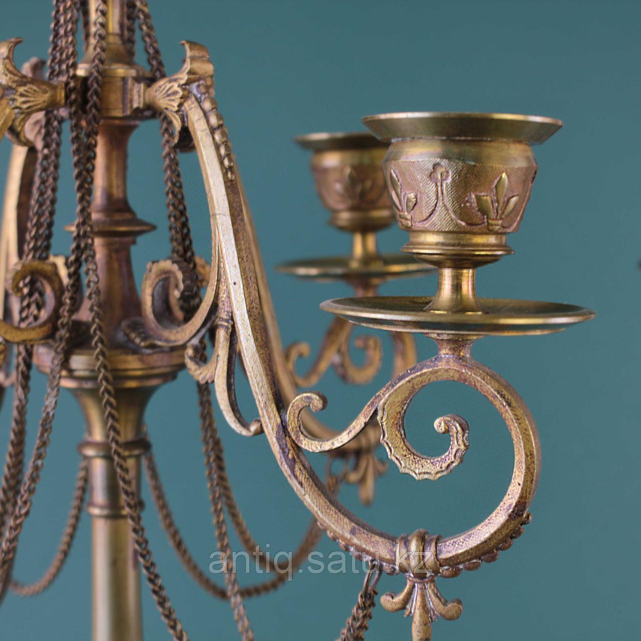 Пара канделябров в стиле Наполеона III. Франция. XIX век - фото 5