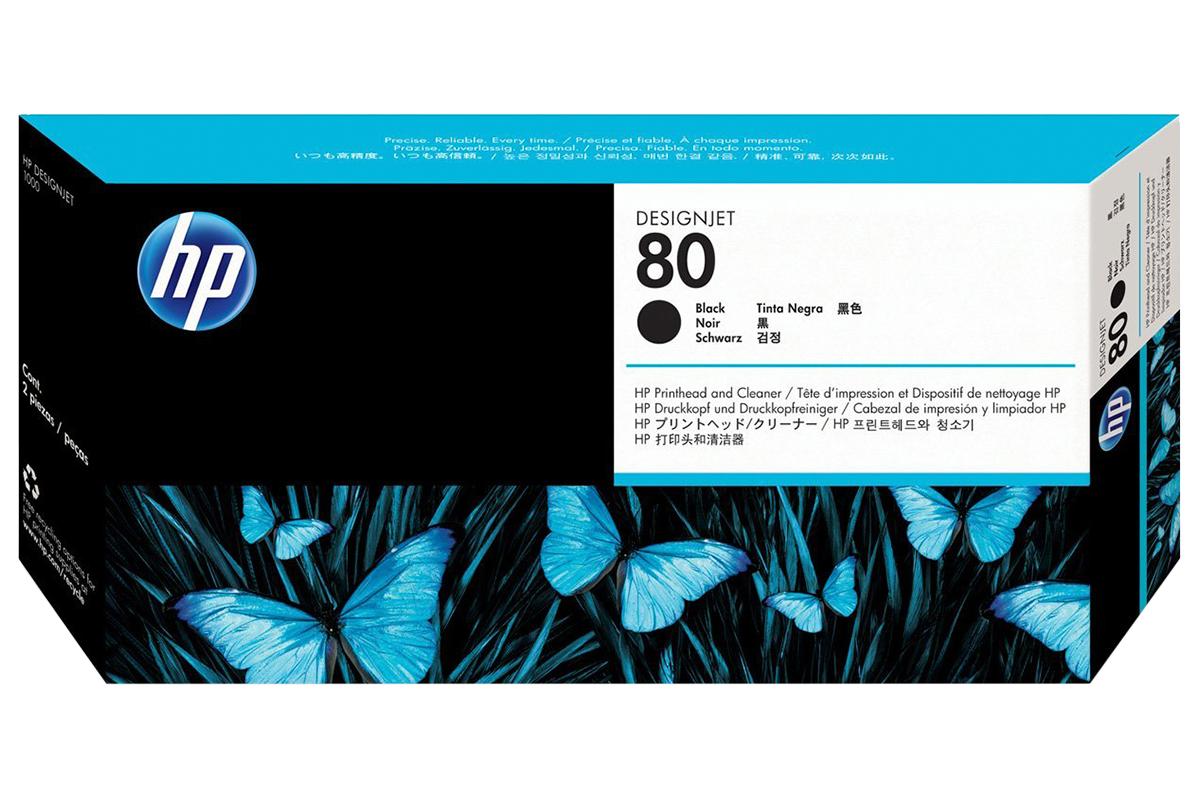 Печатающая Головка HP C4820A №80 Черный