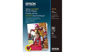 Фотобумага Epson C13S400036 Value Glossy Photo Paper A4 50 sheet