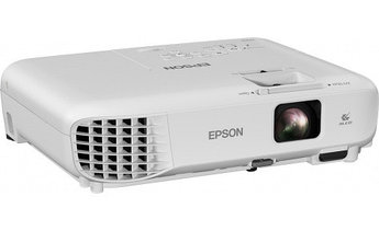 "Проектор Epson EB-X05/3LCD/0.55""LCD/XGA (1024x768)/3300lm/4:3/15000:1/VGA/HDMI/RCA/USB Type A, B"