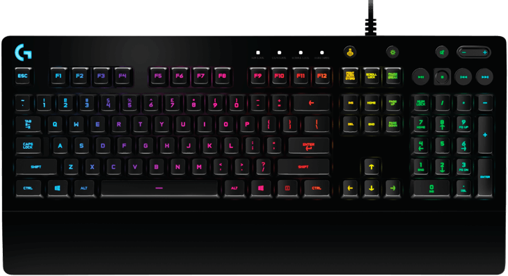920-008092 Клавиатура G213 Prodigy Gaming Keyboard - RUS - USB - INTNL