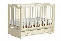 Детская кроватка Кубаночка 1 универсальный маятник (слон.кость)