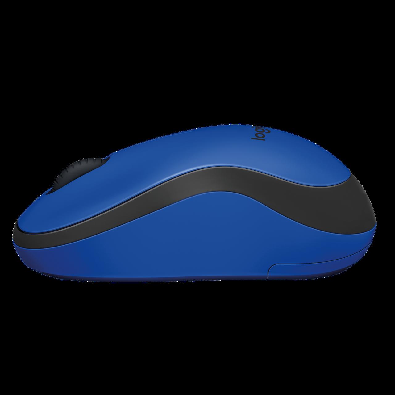 Мышь Logitech® M220 SILENT - BLUE - 2.4GHZ - EMEA