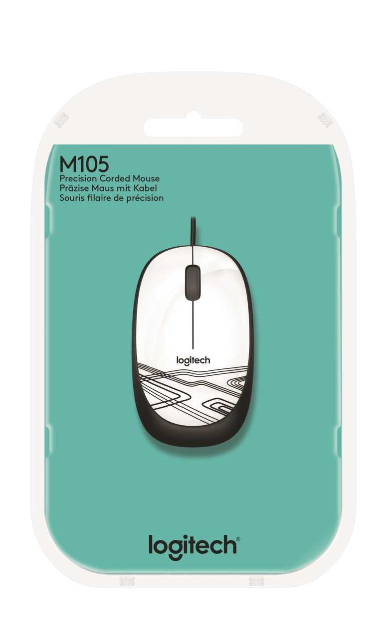 Мышь Logitech M105 White