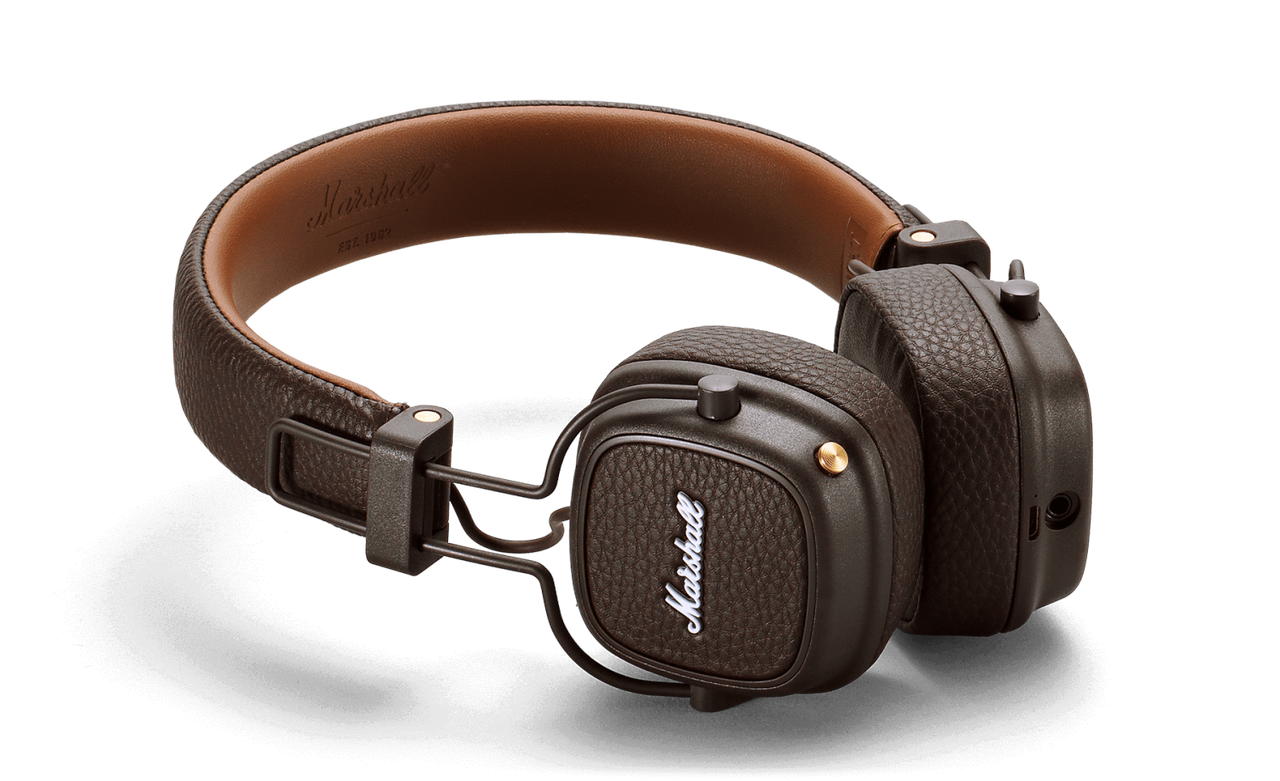 Наушники MARSHALL Наушники накладные Marshall Major III Bluetooth, коричневый 04092187