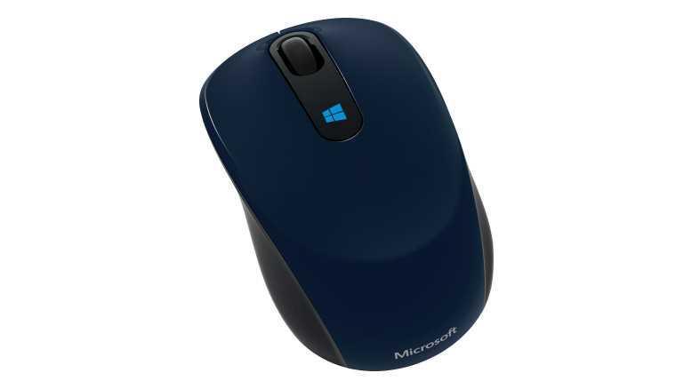 Мышь Microsoft Sculpt Mobile Mse Win7/8 EN/AR/CS/NL/FR/EL/IT/PT/RU/ES/UK EMEA EFR Wool Blue