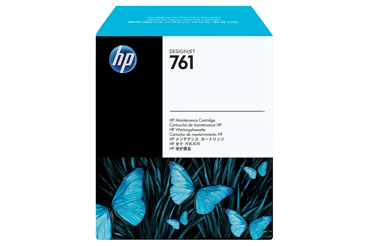 HP CH649A Designjet Maintenance Cartridge №761 for Designjet T7100.