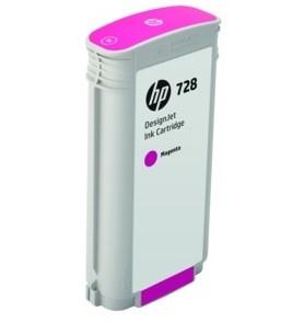 HP F9J66A 728 130-ml Magenta Ink Crtg, for DesignJet T730, T830 MFP