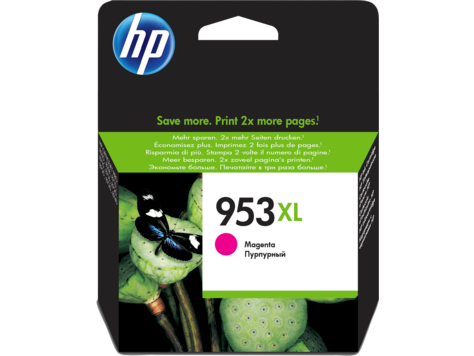 HP F6U17AE 953XL Magenta Original Ink Cartridge for OfficeJet  Pro 8710/8720/8730, up to 1600 pages