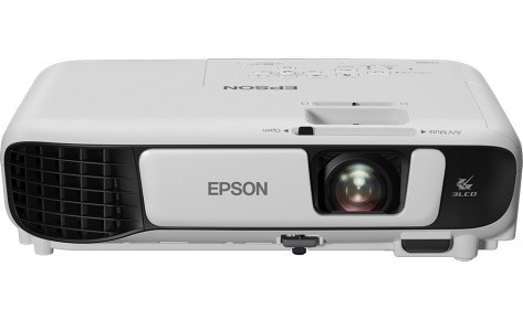 "Проектор Epson EB-E05/3LCD/0.55"";LCD/XGA (1024x768)/3200lm/4:3/10 000:1/VGA/HDMI/RCA/USB Type A,B"