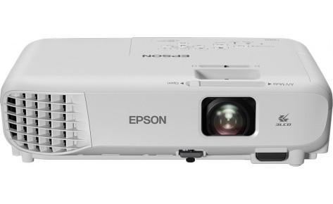 "Проектор Epson EB-E001/3LCD/0.55"";LCD/XGA (1024x768)/3100lm/4:3/10 000:1/VGA/HDMI/RCA/USB Type A,B"