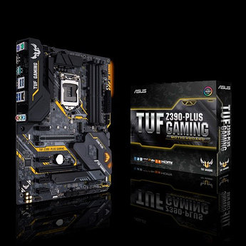 Сист. плата Asus TUF Z390-PLUS GAMING, Z390, S1151, 4xDIMM DDR4, 2xPCI-E x16, 4xPCI-E x1, 2xM.2, 6xSATA, DP,