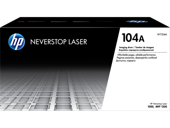 HP W1104A 104A Imaging Drum Cartridge for Neverstop Laser 1000/1200, 20000 pages
