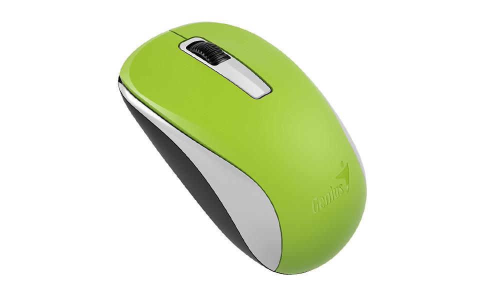 Беспроводная оптическая мышь Genius NX-7005, USB, 1200 dpi, Green, G5, 31030127105